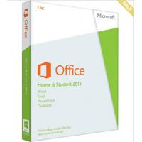 China Global Language PC Computer Software Microsoft Office 2013 Home And Student For Windows 32 / 64 Bits wholesale