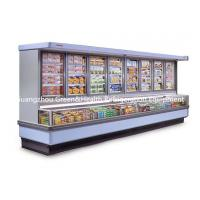 Quality Vegetable / Dairy Island Combination Freezer 2000 * 1060 * 2000mm Split Type for sale