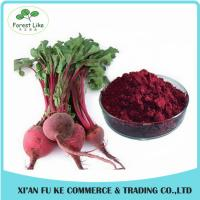 China 100% Water Soluble Natural Pigment Red Beet Juice Powder wholesale