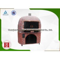 Quality 12 Inch Italian Wood Burning Pizza Ovens Fire Resistant Pottery Inner Dome Material for sale