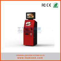 China Ticket Prepaid Cards Vending Self Service Ticket Machine Custom on sale