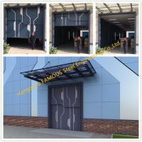 China Sectional Steel Lift Door Vertical Panel Lifting Industrial Sectional Door For Garage Use wholesale