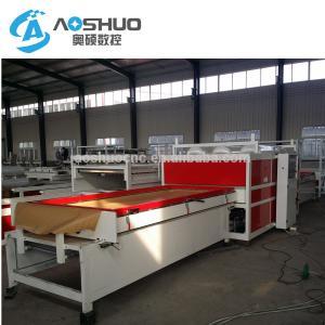 China Waterproof Film Covering Vacuum Membrane Press Machine For Wood Furniture Door wholesale