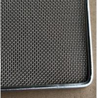 China Frame Wire Mesh Tray For Food Baking , Dehydration , 304 Food Grade wholesale