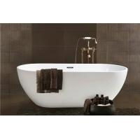 China Simple Modern Acrylic Massage Bathtub / Small Stand Alone Tub Excellent Heat Retention wholesale