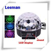 China Digital Rgb LED Magic Ball Light 6W / Professional Stage Lighting Equipment 4500lm wholesale