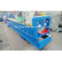 China Aluminum Single Layer Roofing Sheet Roll Forming Machine , Galvanized Board wholesale