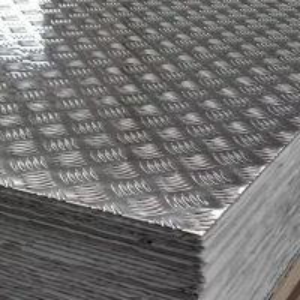 China 5052 3000 Series 5 bar aluminum tread plate 2mm aluminium checker plate wholesale