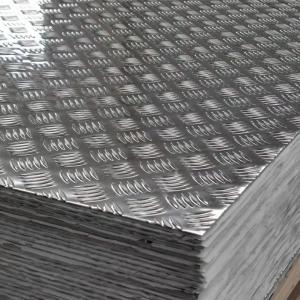 China SGS 1xxx 3xxx 5xxx 8xxx Series Aluminum Diamond Plate Sheets embossed aluminum sheet wholesale