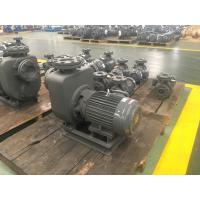 Buy cheap Centrifugal Self - Priming Sewage Pump , Cast Iron Wastewater Treatment Pump product