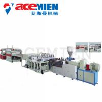 China PVC Foam Boad Plastic Plate Making Machine With Capacity 400kg/H 600kg/H wholesale
