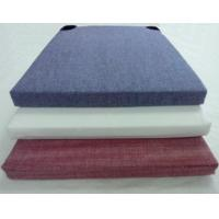 Quality 100% cotton yarn dyed chair pad for sale