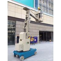 China Self Propelled Vertical Mast Lift Manlift Aerial Work Platform Boom Lift wholesale