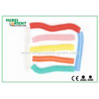 China 19 Inch Colored Disposable Head Cap For Hospital Operating Theater wholesale