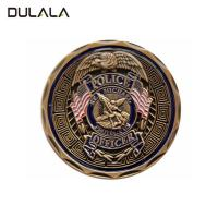 China Die struck Zinc alloy soft enamel challenge coin with  double sides design wholesale