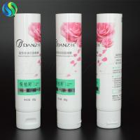 China 85g cleanser gel cosmetic tube, 3oz white plastic tube, empty plastic packaging tube wholesale