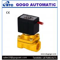 China Two Way 1/4 Inch Port 2 Way Solenoid Valves High Temperature Wire Lead SMC Type wholesale