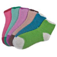 Buy cheap double color pattern,Aloe Infused SPA Socks polyester plush therapy spa sock product
