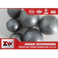 China HRC 60-68 Hardness Grinding Steel Balls for Mining and Cement Plant Ball Milling wholesale