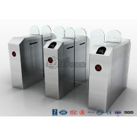 Quality Fastlane Turnstile Remote Control Access Control Turnstiles Tempered Glass for sale