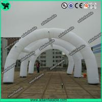 China Advertising Inflatable Tunnel Tent, White Inflatable Arch Tent For Event Party Sale wholesale