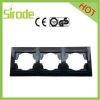 China 9206-83 Black Anti-fire Switch Wall Plate wholesale