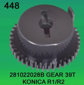China 281022028B / 2810 22028B GEAR TEETH-39 FOR KONICA R1,R2 minilab wholesale