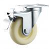 China Threaded Stem Nylon Caster Wheels / Nylon Roller Wheels Multiple Size wholesale