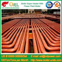 Buy cheap ORL Power 50 MW CFB Boiler Superheater For Petroleum Steam Oil Industry Plant from wholesalers