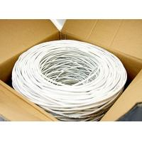 SFTP CAT6 Network Cable 23 AWG , 550 MHz CAT6 Patch Cable With PVC Jacket , TC Wire