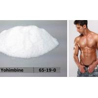 China High Purity Yohimbine HCL / Male Enlargement Pills For Sex Enhance , CAS 65-19-0 wholesale