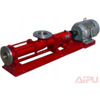 China Oilfield high quality screw pump used to feed decanter centrifgue at Aipu wholesale