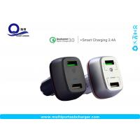 27W qualcomm quick charge 3.0 samsung car charger Dual small usb for Samsung