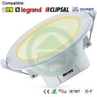 China 3000K Warn Wihte Dimmable LED Downlights 10W Corrosion Resistance wholesale