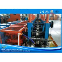 China Cold Rolled Coil SS Tube Mill Machine , Square Tube Mill Friction Saw Cutting wholesale