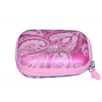 Quality Pink Protective Camera Case PU Surface With Screen Printing Logo , Eco Friendly for sale