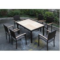China outdoor garden teak dining furniture-16214 wholesale