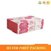 China Silver First custom printing decorative magnet book shaped cardboard gift box on sale