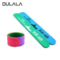 China China Factory Directly Promotional Gifts Ruler Bands Silicone Slap Bracelet For Kids wholesale