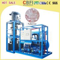 China High Output Tube Ice Maker / Ice Making Machines For Fast Food Shops / Supermarkets wholesale