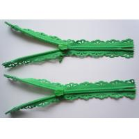Quality Nice design 24 colors available #3 lace nylon zipper with waterdrop slider for garment for sale