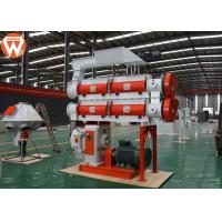 China Low Noise Feed Pellet Machine With Double Layer Modulator 5 T/H Capacity wholesale