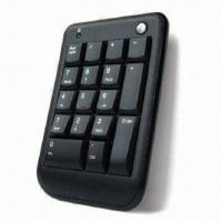 China Numerical Keyboard with Slim Design, Made of ABS Plastic, Compatible with Microsoft's Windows OS wholesale