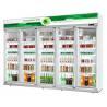Buy cheap Green&Health hot sale 2 doors 5 doors convenience store Pepsi beverage display cooler from wholesalers