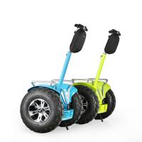 China 2 Wheels Self Balancing Scooters Big Tire Smart Electric Chariot Off Road 4000W Motor wholesale