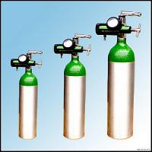 China Ambulance Breathing Medical Portable Oxygen Cylinder Of Aluminum on sale