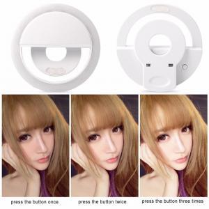 China 2017 new arrival selfie led light ring fill light for mobile phone ring selfie light Battery Selfie Ring Light on sale