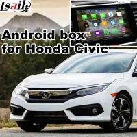 Buy cheap Mirror link 1.6 GHz Quad core Android navigation box interface for 16 honda civic product