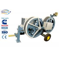 China 5T Transmission Line Equipment Hydraulic Tensioner Machine With 1300/1500mm Bull Wheel wholesale