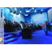China Customized 5D Movie Theater Ocean park 5D Motion Cinema Arc Screen Luxury Chairs  Movies wholesale